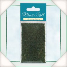 035003 Kwiatki Flower Soft - Christmas Green