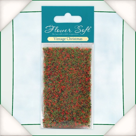 035004 Kwiatki  Flower Soft - Vintage Christmas