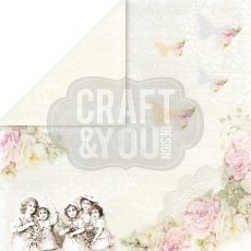 "CP-MW05 Papier dwustronny 12x12"" My Wedding 05"