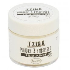 10180 Puder do embossingu Izink 3D  - Relief Jasmine