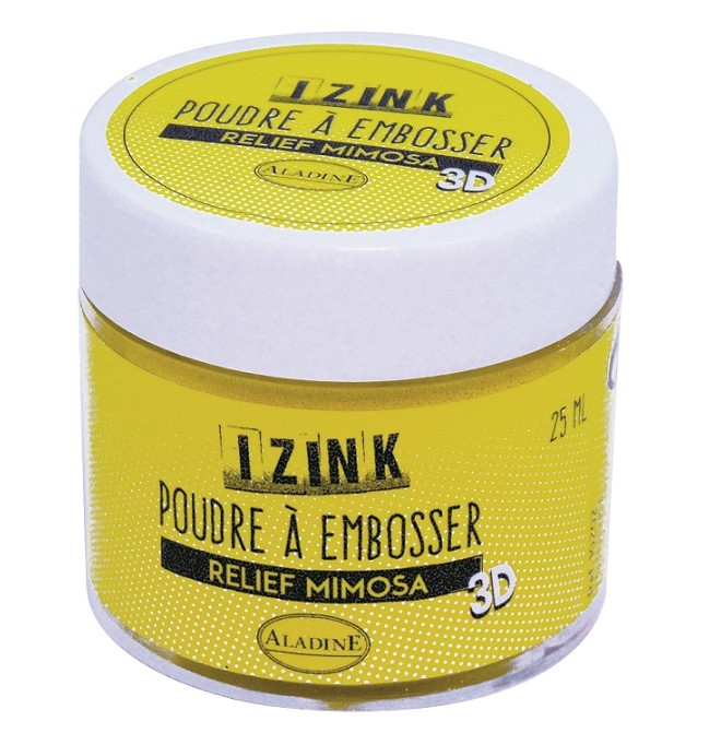 10202 Puder do embossingu Izink 3D - Relief Mimosa