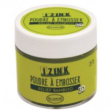 10208 Puder do embossingu Izink 3D - Relief Bamboo