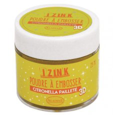 10210 Puder do embossingu brokatowy Izink 3D - Citronella Paillete