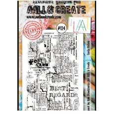 #124 AAll&Create - Stemple A6 - Carte postale