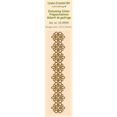 35.9999 Folder do embossingu border lace