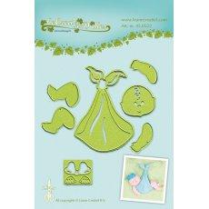 45.0522 Wykrojniki Leane Creatief Leabilities BABy - niemowlę