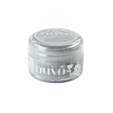 547N Nuvo Sparkle Dust -ultradelikatny brokat - Silver Sequin