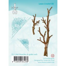 55.1260 Stemple silikonowe Leane Creatief Branches & spider web