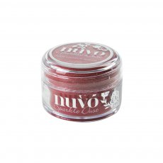 550N Nuvo Sparkle Dust -ultradelikatny brokat - Hollywood Red