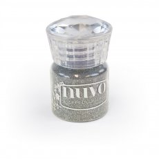 597N Puder do embossingu Nuovo - Glitter  Silver Moonlight