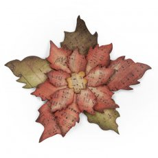 658261 Sizzix Bigz Die - Tattered Poinsettia