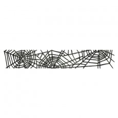 658713 Sizzlits Decorative Strip Die - Cobwebs - pajęczyna