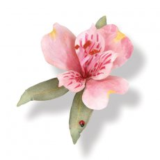 658851 Thinlits Die Set 10PK - Flower, Alstroemeria