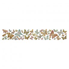 659575 Sizzlits Decorative Strip Die - Butterfly Frenzy