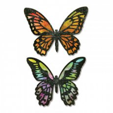 661182 Wykrojnik Sizzix Thinlits Die- Detailed Butterflies -motyle