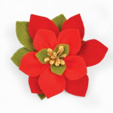 661294 Wykrojniki BigzDie- Build a Bloom, Poinsettia