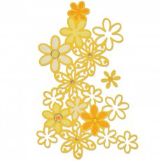 661295 Sizzix Thinlits Die Set 2PK - Drifting Daisy