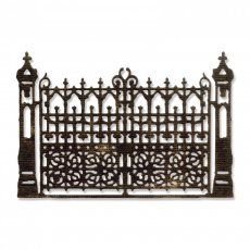 661586 Sizzix Thinlits Die - Gothic Gate