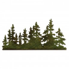 661604 Sizzix Thinlits Die - Tree Line