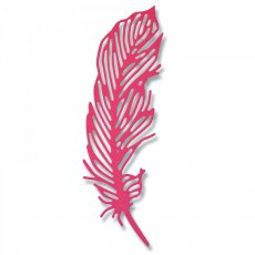 661682 Sizzix Thinlits Die - Delicate Feather-piórko