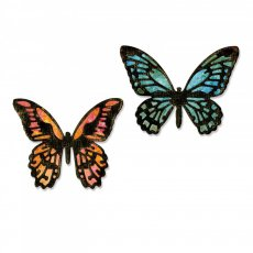 661802 Sizzix Thinlits Die-Detailed Butterflies, Mini motyle