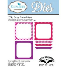 774 Wykrojniki Elizabeth Craft Designs - Fancy Frame Edges