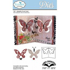 767 Wykrojniki Elizabeth Craft Designs - -Butterfly Pivot Card