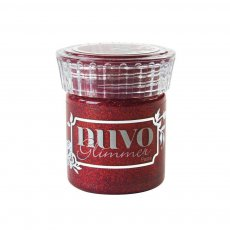954N Nuvo Glimmer Paste - pasta brokatowa - Garnet Red