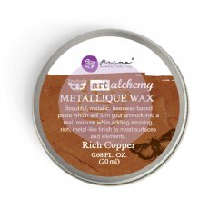 963989 Wosk metaliczny Art Alchemy- Metalique Wax - Finnbair -Rich Copper