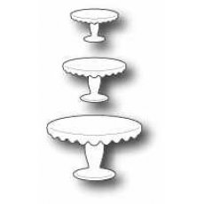 98541 Wykrojnik Scalloped Cake Stand