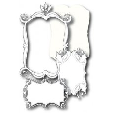 98715 Wykrojnik Holly Holiday Frame Set
