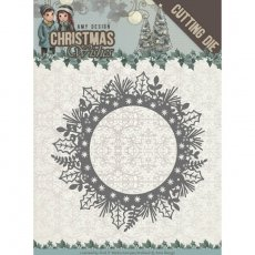 ADD10149 Wykrojnik Holly Wreath - Amy Design