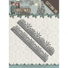 ADD10150 Wykrojnik Snowflake Borders - Amy Design