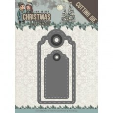 ADD10153 Wykrojnik Wishing Labels - Amy Design