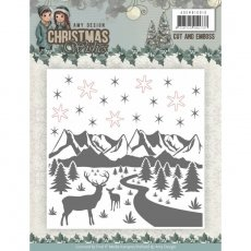 ADEMB10010 Folder do embossingu Christmas Wishes - Amy Design