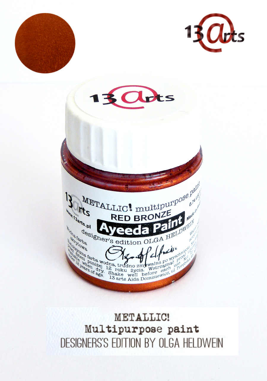 2098 Ayeeda Paint METALLIC! Red Bronze