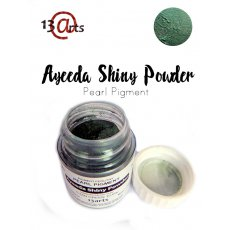SHIN-25 Ayeeda Shiny Powder Cyan Green