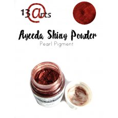 SHIN-13 Ayeeda Shiny Powder Wine Red Satin