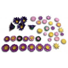 B376 Wykrojniki  Tiny Flower Kit (Set of 3)