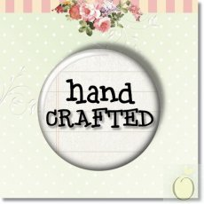 BUP055_6 Button 1sztuka -hand crafted