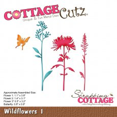 CC-245 Wykrojnik CottageCutz Wildflowers 1