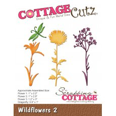 CC-246 Wykrojnik CottageCutz Wildflowers 2