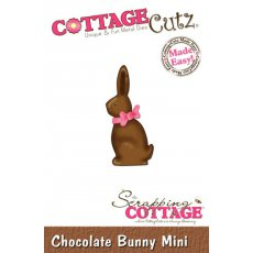 CC-MINI-047 Wykrojnik CottageCutz Chocolate Bunny Shape (Mini)