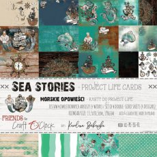 CC-PL-SS-F1 SEA STORIES - zestaw kart do Project Life
