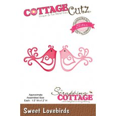 CCE-099 Wykrojnik CottageCutz Sweet Lovebirds (Elites)