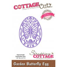 CCE-104 Wykrojnik CottageCutz Garden Butterfly Egg (Elites)