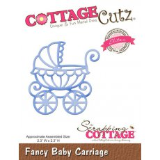 CCE-143 Wykrojnik CottageCutz Fancy Baby Carriage (Elites)