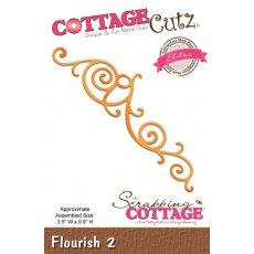 CCE-399 Wykrojniki CottageCutz -Flourish 2 (Elites)