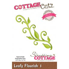 CCE-402 Wykrojniki CottageCutz - Leafy Flourish 1 (Elites)