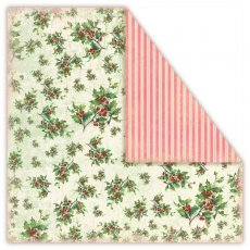 CHRISTMAS IN AVONLEA-Holly -Papier dwustronny  30,5x30,5 UHK Gallery